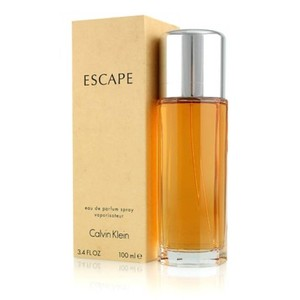 Calvin Klein ESCAPE by CALVIN KLEIN Eau de Parfum Spray for Women ~ 3.4 oz / 100 ml