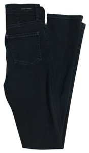Citizens of Humanity Dark Wash High Waisted Straight Leg Jeans-Dark Rinse