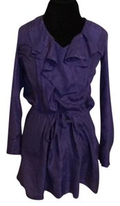 Rebecca Taylor short dress Purple on Tradesy