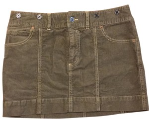 Rugby Ralph Lauren Mini Skirt khaki green