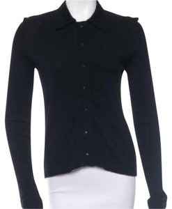 Miu Miu Button Down Shirt Black