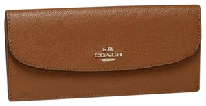 Coach COACH F54008 SOFT WALLET IN CROSSGRAIN LEATHER ENVELOPE WALLET