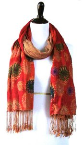 Eyeful Reversible Floral Scarf