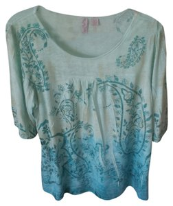 Avenue Top Green & Blue
