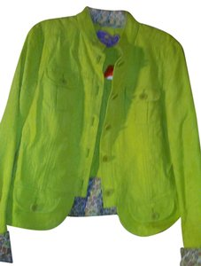 Etro lime green Jacket