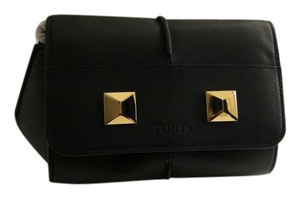 Ports 1961 Studded Leather Clutch Cross Body Bag