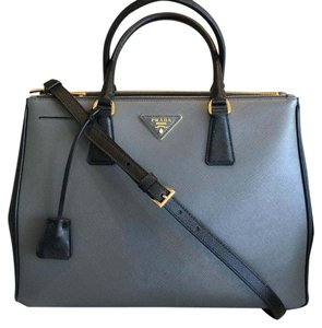 Prada Satchel in black / gray