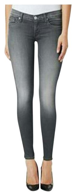 Item - Grey Gray Light Wash Krista Supper Skinny Jeans Size 28 (4, S)