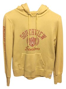 American Eagle Outfitters Southview Strikers Ae Yellow Sweatshirt