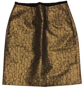 Ann Taylor Skirt gold