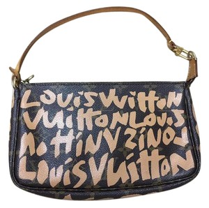 Louis Vuitton Pochette Graffiti Clutch