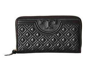 Tory Burch Tory Burch Fleming Quilted Lambskin Continental Wallet