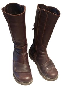 El Naturalista Leather Brown Boots