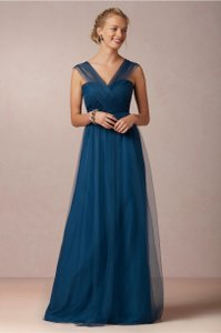 Jenny Yoo Lapis Blue Annabelle Dress