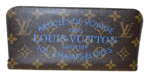 Louis Vuitton 2013 Limited Edition Blue Ikat Insolite Wallet Clutch EXCELLENT!