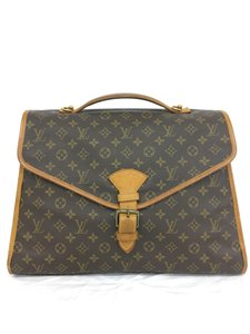 Louis Vuitton Lv Monogram Beverly Business Canvas Tote in brown