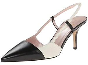 Kate Spade Black/Cream/Nappa Pumps