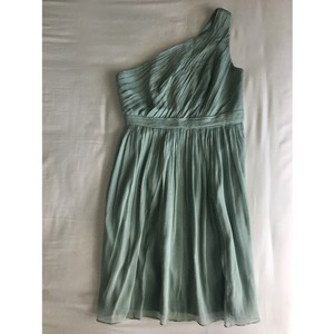 J.Crew Dusty Shale Kylie Bridesmaid Dress Dress