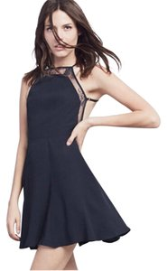 Reformation short dress Black on Tradesy