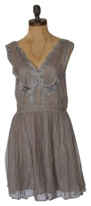 Willow & Clay Chiffon Romantic Fit And Flare Dress