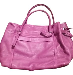 Kate Spade Leather Pink Tote in Mauve