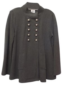 ivy jane Anthropologie New Embroidered Double D Ranch Grey Jacket