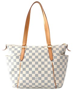 Louis Vuitton Lv Totally Pm Canvas Tote in Damier Azur