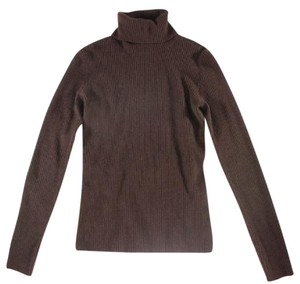 Ralph Lauren Cashmere Chocolate High Cy Sweater