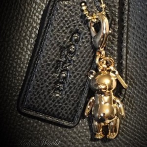 Coach Authentic COACH Teddy Bear Purse Charm