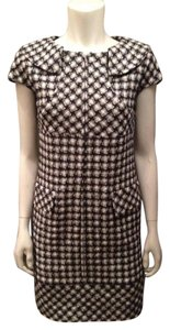 Chanel Tweed Nautical Plaid Dress