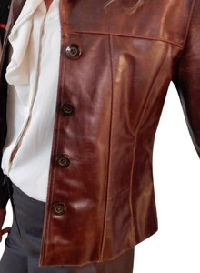 Wilsons Leather Chocolate Brown Leather Jacket