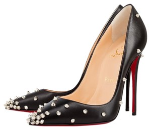 Christian Louboutin Stiletto Spike Degraspike Louboutin Spike Louboutin Heels Black Pumps