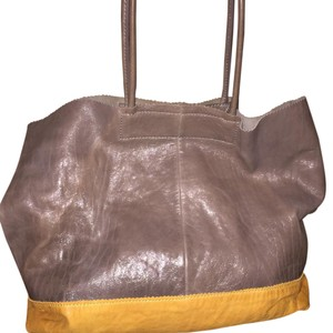 Banana Republic Tote in Steel grey And Mustard