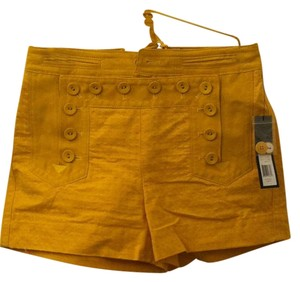 Marc by Marc Jacobs Summer Cuffed Shorts Gold