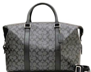 Coach CHARCOAL/BLACK Travel Bag