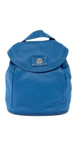Marc by Marc Jacobs Aqua Pebbled Leather Backpack