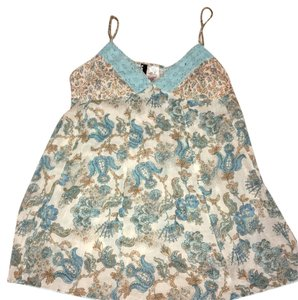 Urban Love Top blue, cream