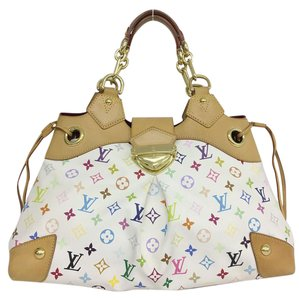 Louis Vuitton Lv Ursula Monogram Tote in White Multicolor