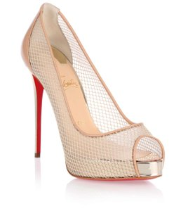 Christian Louboutin Brand New In Box BEIGE/ NUDE Pumps