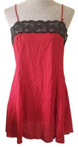 Victoria's Secret short dress Red, Black on Tradesy