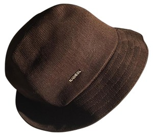 Kangol brown packable fedora large