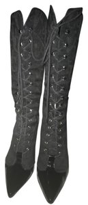 Versace Jeans Collection Black Boots