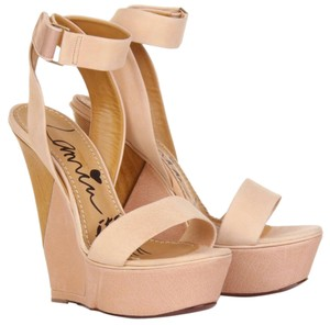Lanvin Nude Wedges