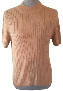 Laura Scott Top Tan, Carmel, Beige