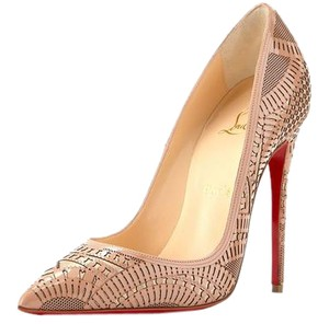 Christian Louboutin BEIGE/ NUDE Pumps