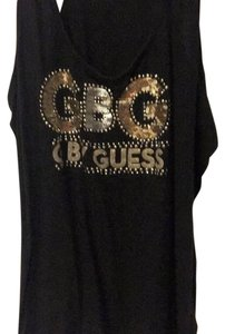 Guess T Shirt black and gold