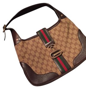 Gucci Jackie Monogram Shoulder Bag