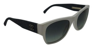 Chanel Chanel 5310 c.1503/S6 White frame with Jeans arms CC Logo Sunglasses