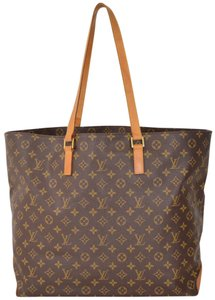 Louis Vuitton Tote Handbag Cabas Alto Shoulder Bag