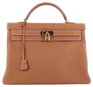 Herms Hermes Kelly Togo Tote